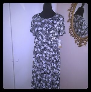 Mickey Mouse Lularoe Carly.  Light material